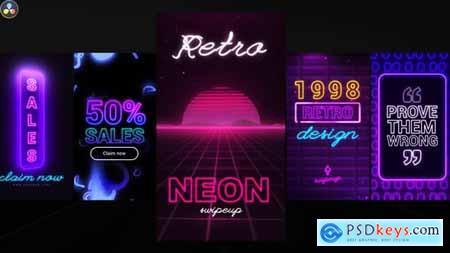 Neon Instagram Stories 33256700