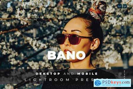 Bano Desktop and Mobile Lightroom Preset