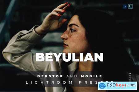 Beyulian Desktop and Mobile Lightroom Preset