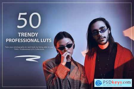 50 Trendy LUTs and Presets Pack
