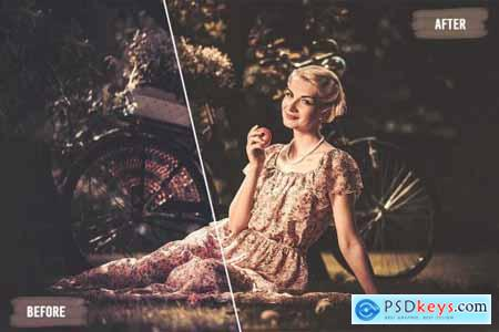 50 Vintage Mood LUTs and Prsets Pack