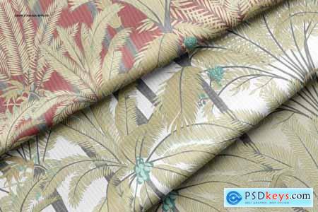 Rib Knit Fabric Mockup Set 6317817