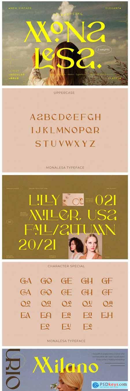Monalesa Font
