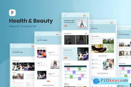 Health and Beauty Website Template