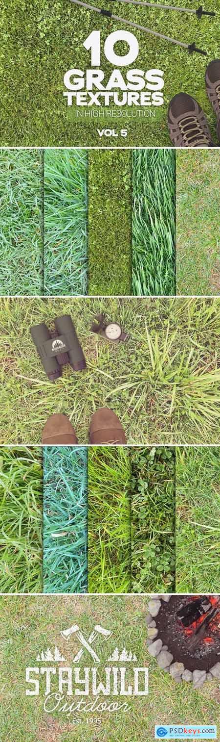 Grass Textures x10 Vol.5