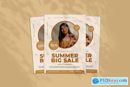New Summer Big Sale Flyer