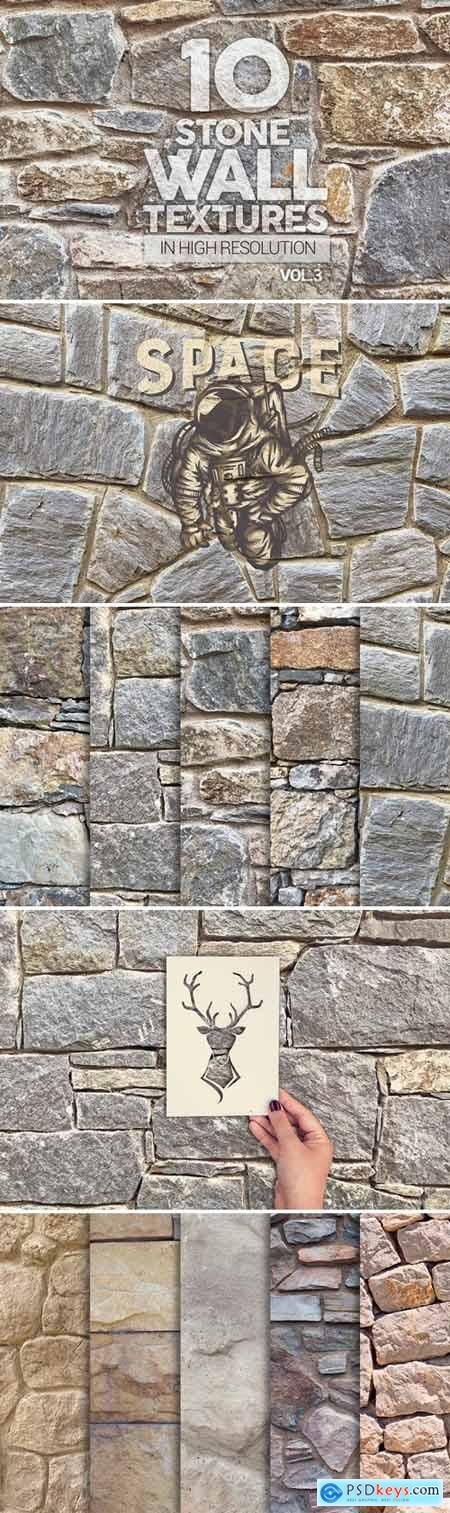 Stone Wall Textures x10 Vol.3