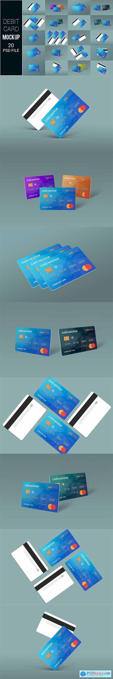 Debit Card Mockup 5542563
