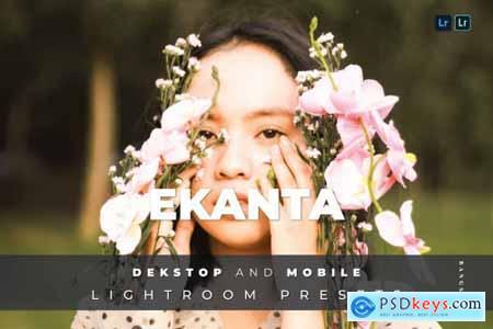 Ekanta Desktop and Mobile Lightroom Preset