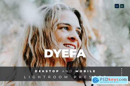 Dyefa Desktop and Mobile Lightroom Preset