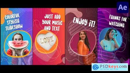 Colorful Social Media Slideshow - After Effects 33335540
