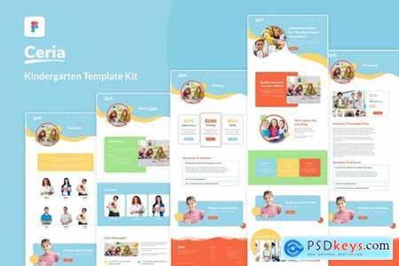Kindergarten & Pre-School Website Template