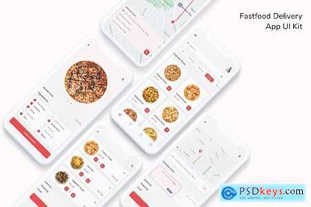 Fastfood Delivery App UI Kit
