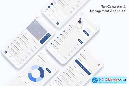 Tax Calculator & Management App UI Kit