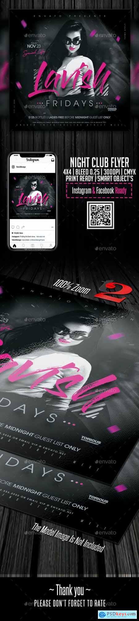 Night Club Flyer Template 24274527