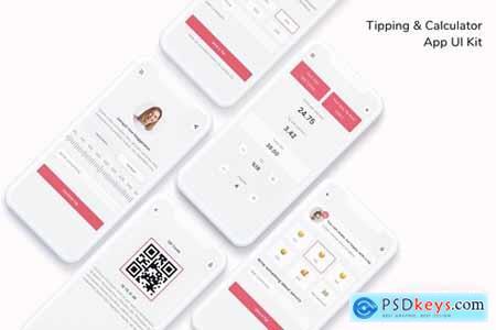 Tipping & Calculator App UI Kit