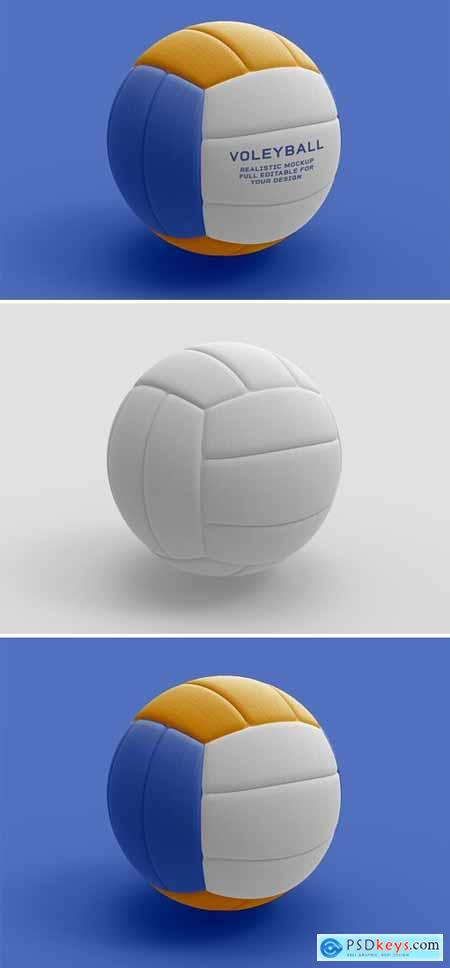 Volleyball Ball Isolated Mockup