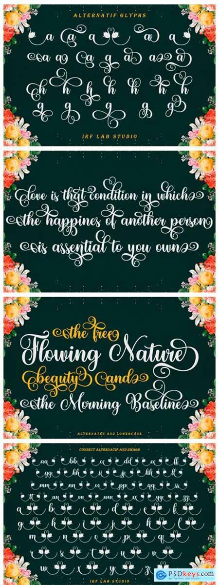 Baligline Beauty Font