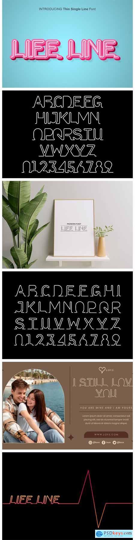 Life Line Font