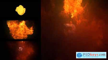 Fire Logo Reveal For Premiere Pro 33289090