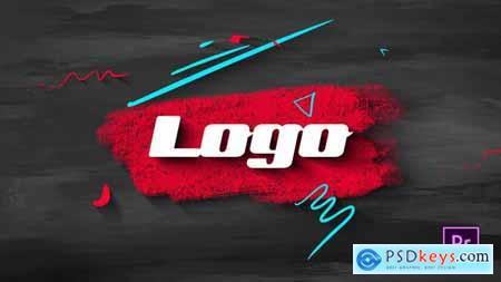 Brush Sribble Logo 33298784