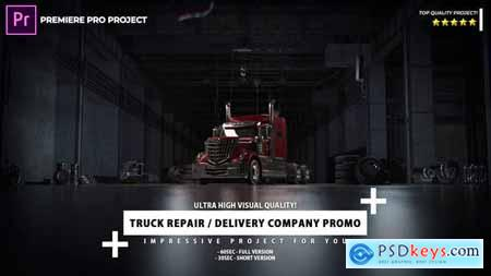 Delivery Company and Truck Repair Promo Premiere Pro Project 33274253