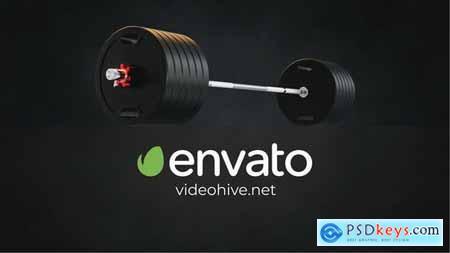 Gym Fitness Logo Reveal 33286868