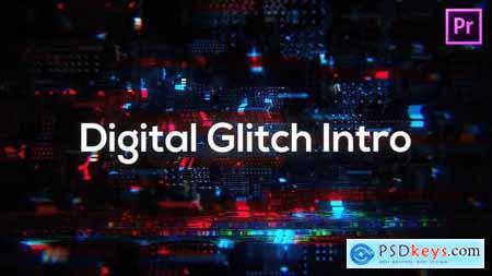 Glitch Technology Intro for Premiere Pro 33282698