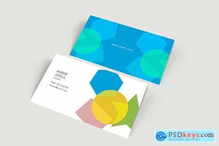 Simple Business Card Mockup PTEK9AM