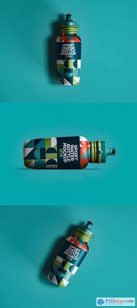 Sport Water Bottle Mockup 014 HEEUJ9P