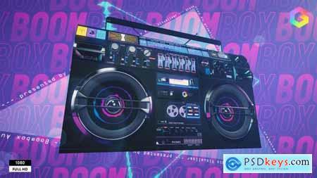 Boombox Audio Visualizer 33336801