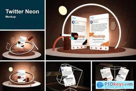 Twitter Neon