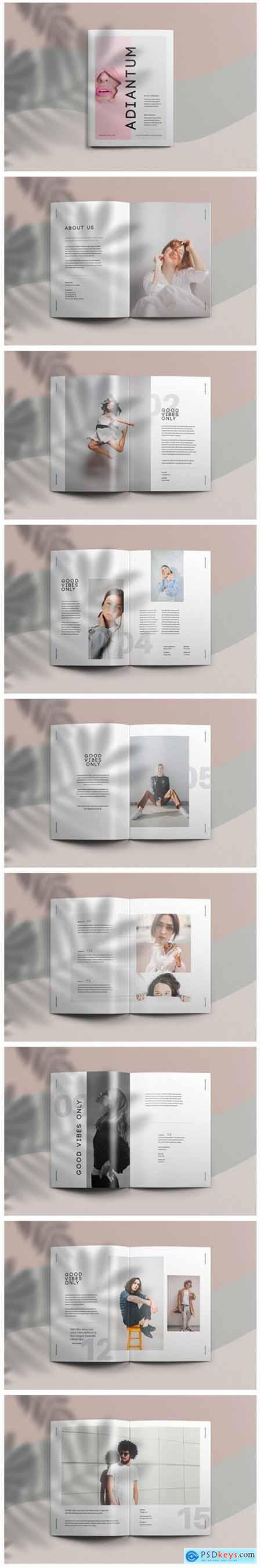 Adiantum - Magazine Template 15496099