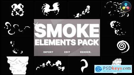 Funny Smoke Elements DaVinci Resolve 33315970
