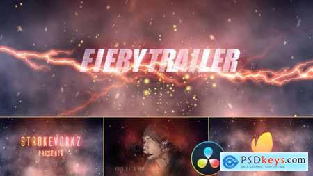 Fire and Smoke Cinematic Trailer DaVinci Resolve 33260487