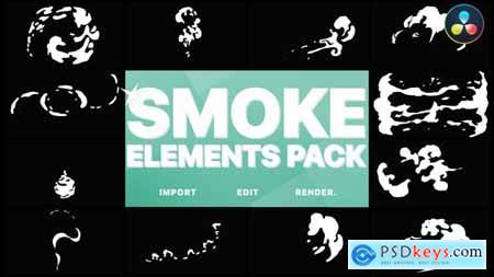 Hand Drawn Smoke DaVinci Resolve 33316078