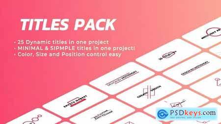 Ingenious Titles Pack DaVinci Resolve 33274323