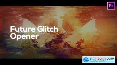 Future Glitch Opener for Premiere Pro 33346100