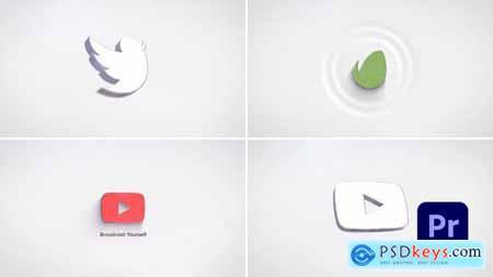 Simple 3D Logo Reveal (Premiere Version) 33352629
