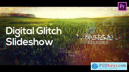 Digital Glitch Slideshow for Premiere Pro 33336909
