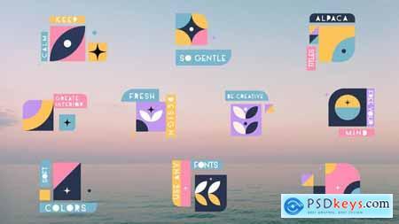 Design Titles -- Premiere Pro MOGRT 33341856