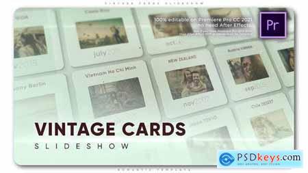 Vintage Cards Slideshow 33362888