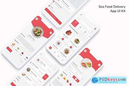 Sea Food Delivery App UI Kit