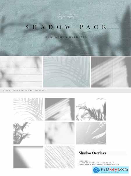 Shadow Overlay Bundle - Beach Series