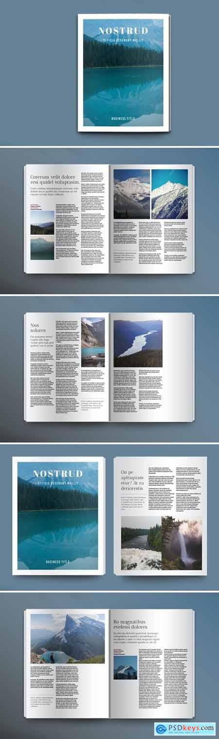 Scenery Magazine Set