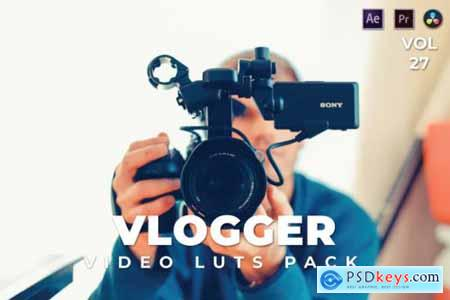 Vlogger Pack Video LUTs Vol.27