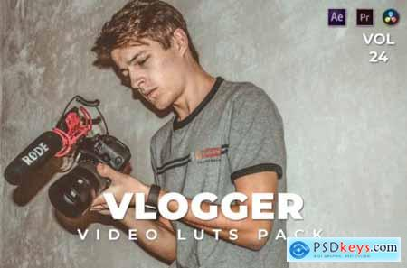 Vlogger Pack Video LUTs Vol.24