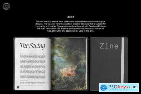 Zine Mockup Pack 3 in 1 5751368