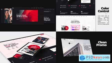 Minimalistic Website Promo 29234487