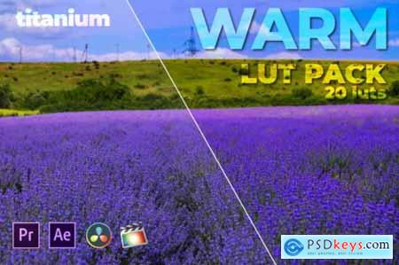 Titanium Warm LUT Pack (20 Luts)